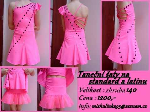 271c843295d Taneční šaty na standard a latinu